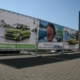 Bannerrahmen für Werbeplanen