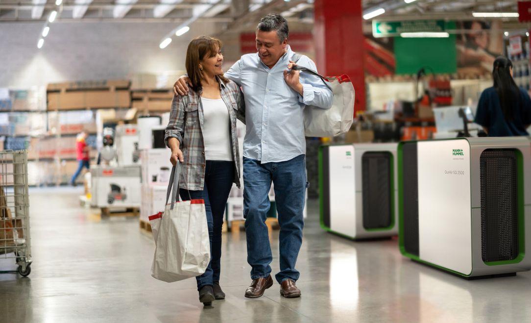 Luftreiniger für den Einzelhandel